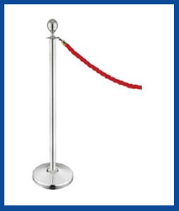 FBIQM2, Rope Barriers Q Barriers - Classic Post & Rope Barrier