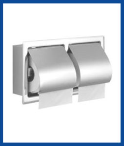 FBITPH8, Twin Toilet Paper Holder (Type-Recessed)